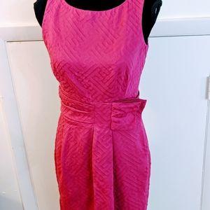 TAYLOR  FUCHSIA DRESS